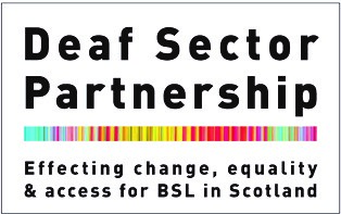 Deaf Sector Partnership logo