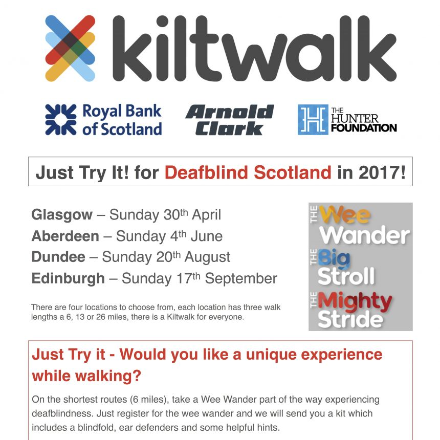 Kiltwalk Just Try It
