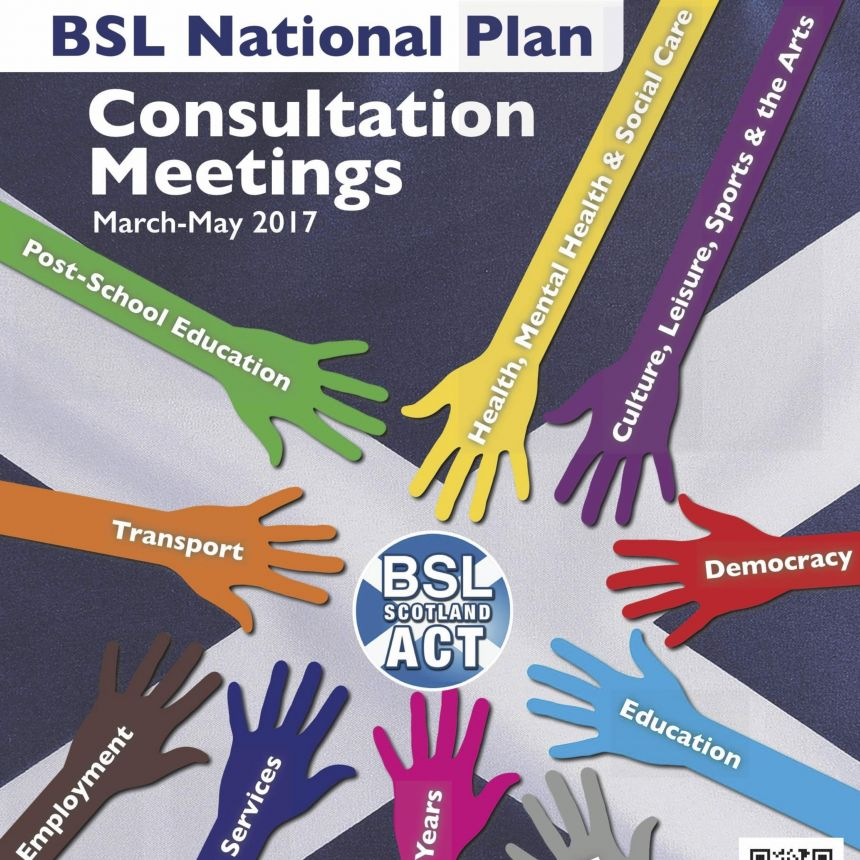 Deafblind and Usher Consultation meeting on the BSL National Plan
