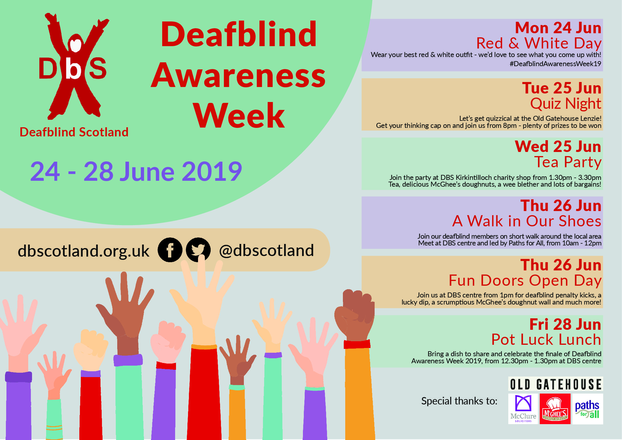 Deafblind Awareness Week 2019