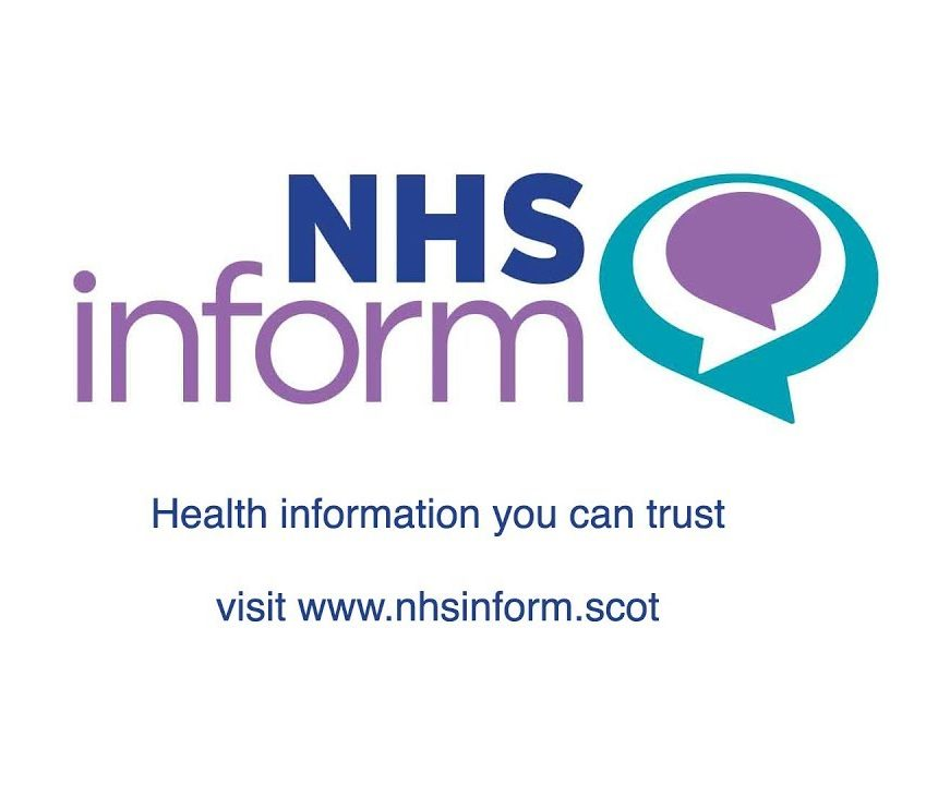 Information from NHS Inform 06/04/20