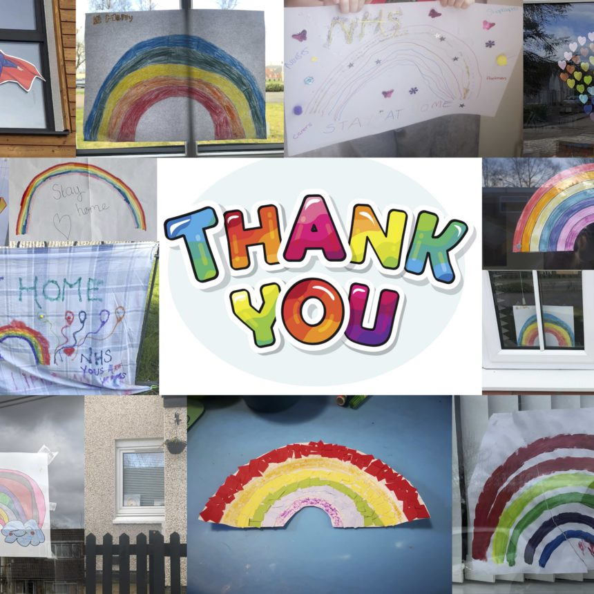Rainbow of Thanks