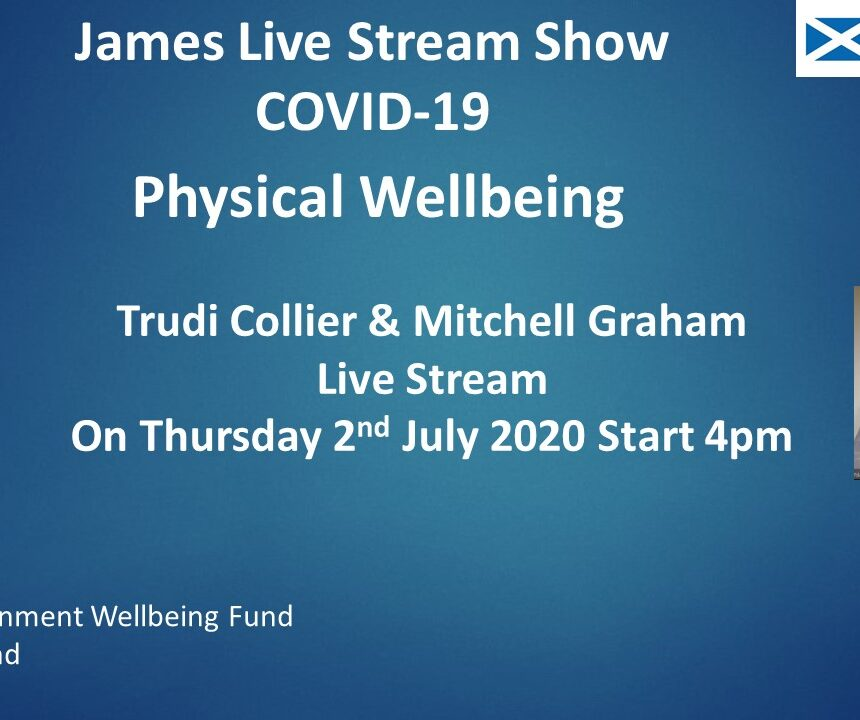 BDA Scotland Live Stream Show Thursday 02 July at 4pm
