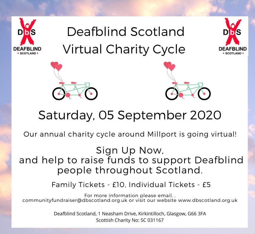 DBS Virtual Charity Cycle