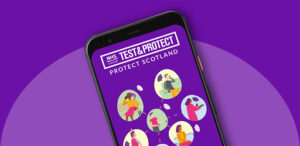 test and protect app logo