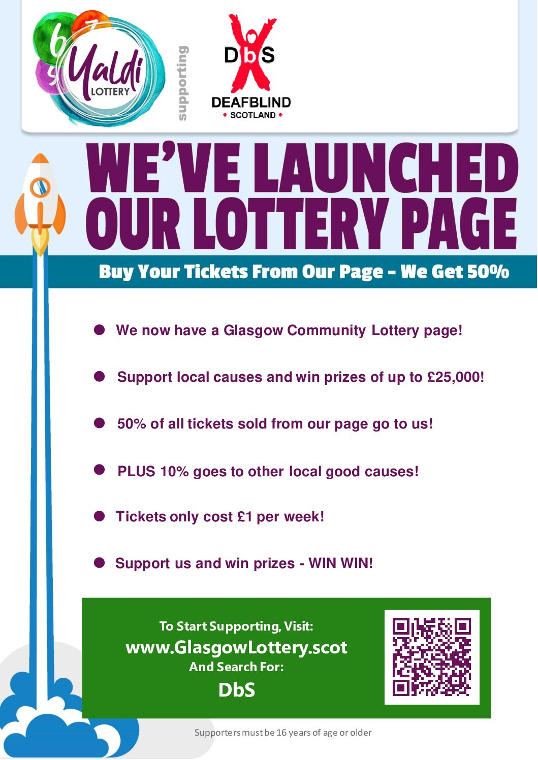 Glasgow Community Lottery, Yaldi!