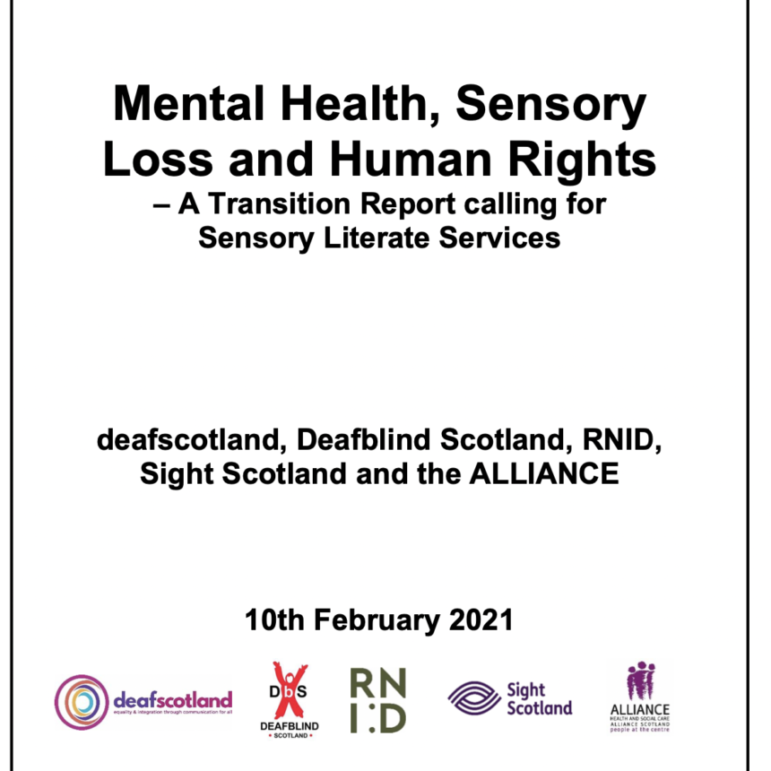 Charities call for action on sensory poverty in mental health response to COVID-19